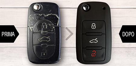 cover in silicone per chiavi auto